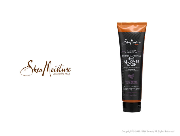 SHEA MOISTURE MEN MARACUJA & SHEA BUTTER 4 IN 1 ALL-OVER WASH 10.3oz