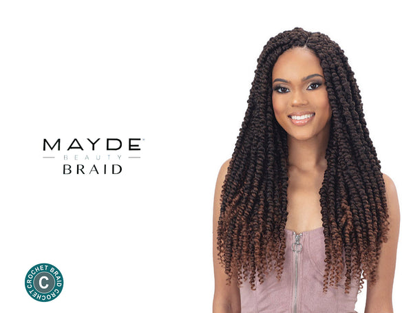 MAYDE 3X PASSION POP BRAID 18""