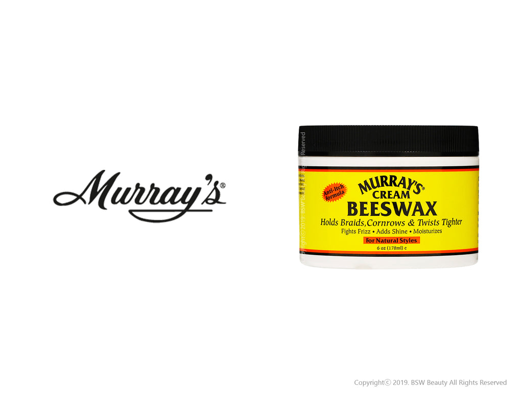MURRAY'S CREAM BEESWAX FOR NATURAL STYLES 6oz