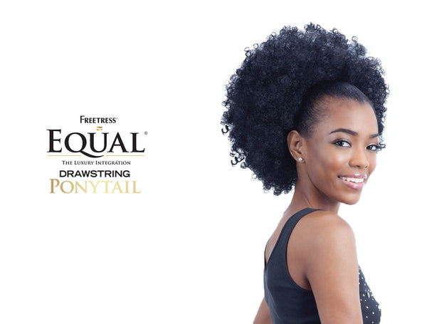 SHAKE N GO FREETRESS EQUAL DRAWSTRING PONYTAIL NATURAL FRO