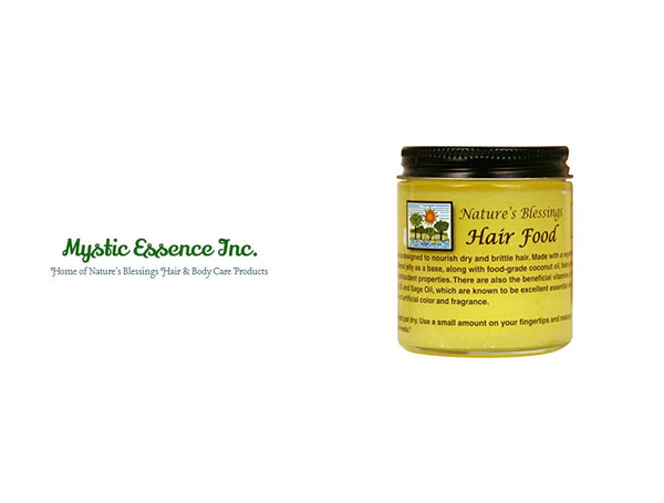 MYSTIC ESSENCE NATURE'S BLESSINGS HAIR FOOD 4oz
