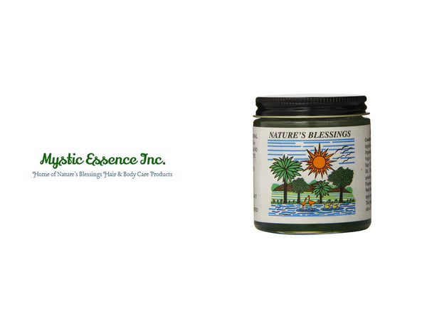 MYSTIC ESSENCE NATURE'S BLESSINGS HAIR POMADE 4oz