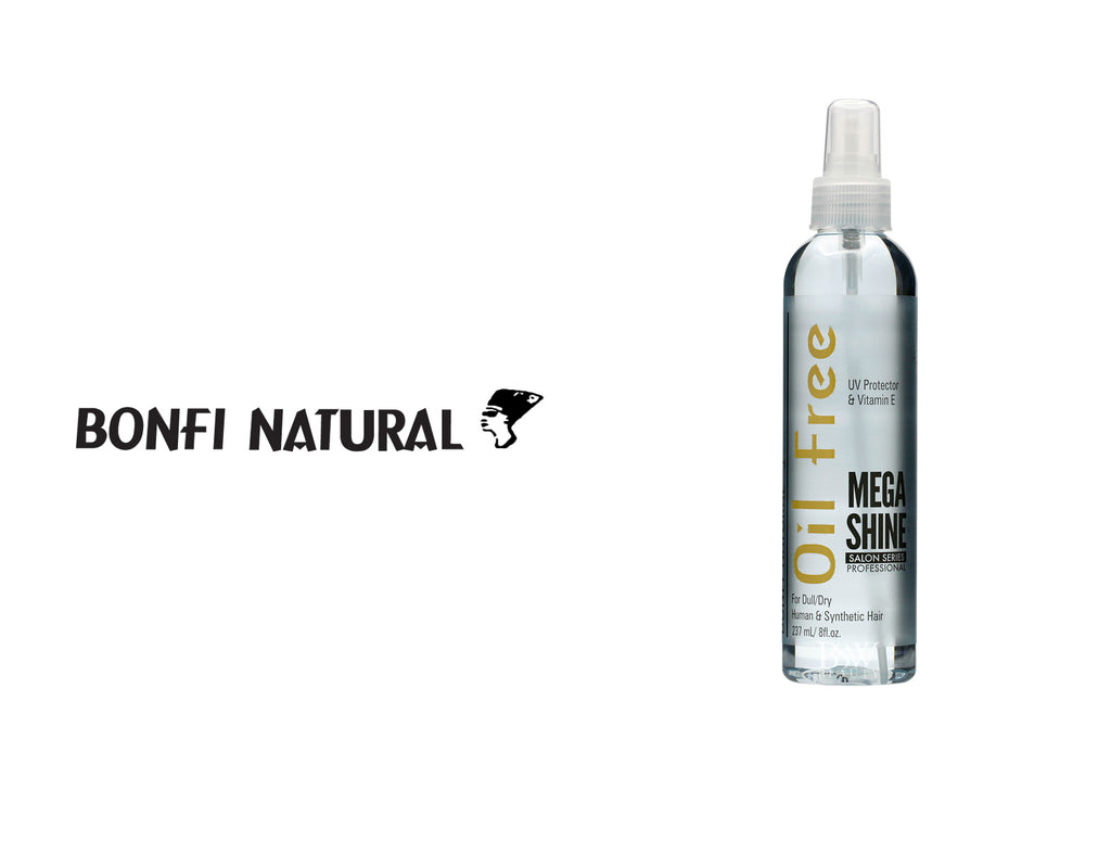 BONFI NATURAL OIL FREE MEGA SHINE 8oz***