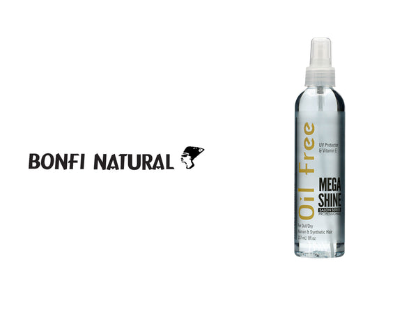 BONFI NATURAL OIL FREE MEGA SHINE 8oz