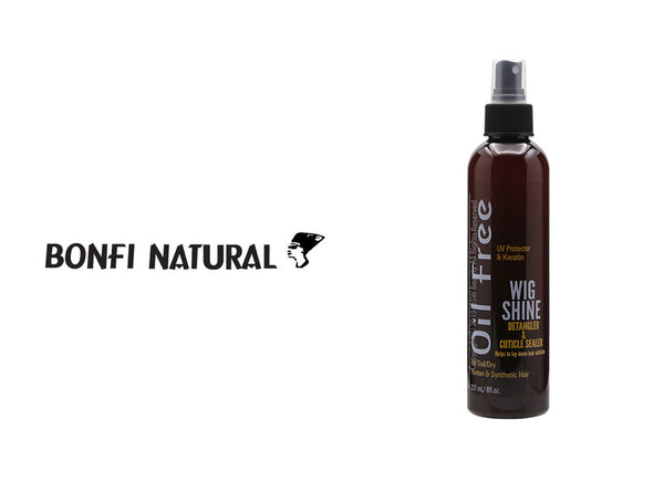 BONFI NATURAL OIL FREE WIG SHINE 8oz***