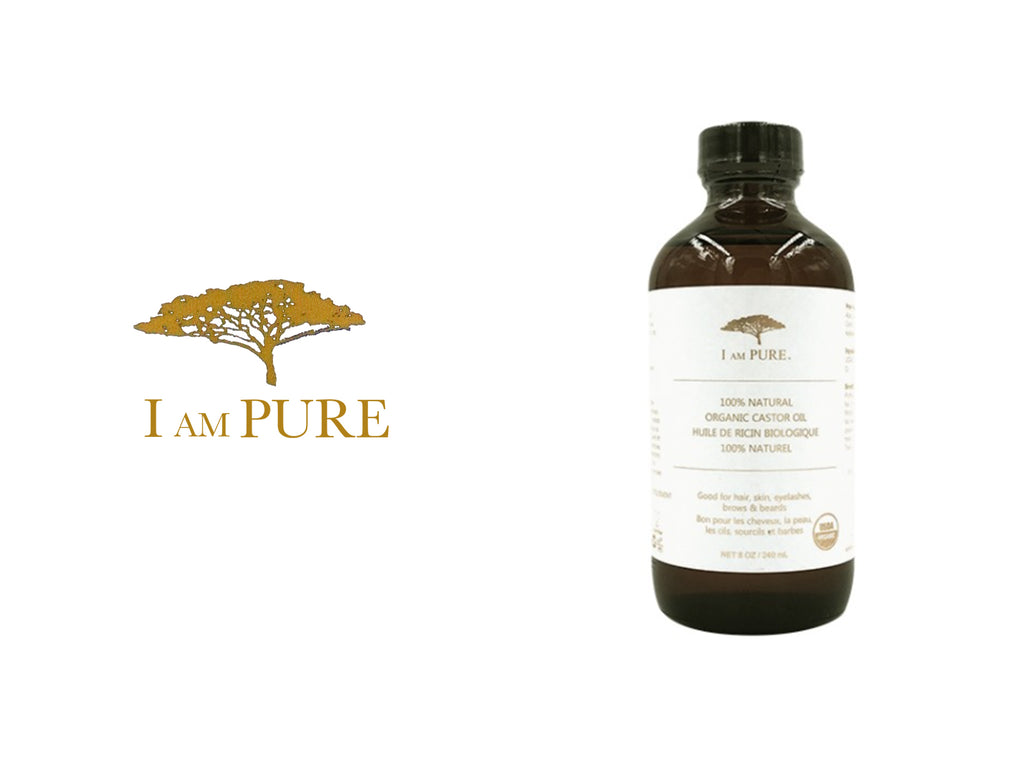 I AM PURE 100% NATURAL ORGANIC CASTOR OIL