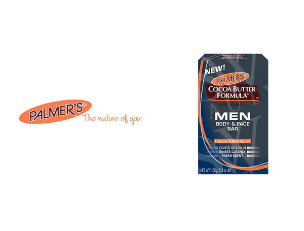 PALMER'S COCOA BUTTER MEN BODY & FACE BAR 5.3oz