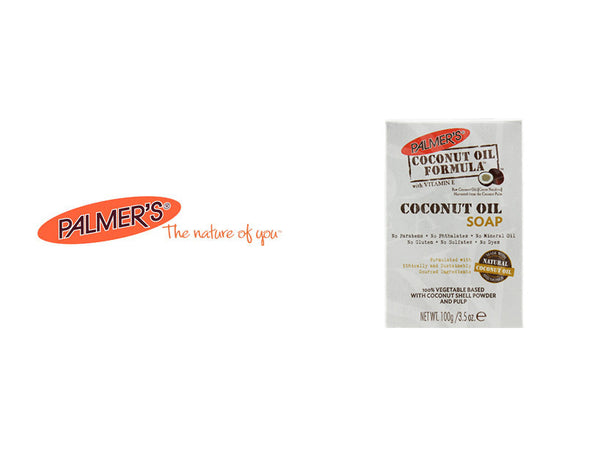 PALMER'S COCONUT OIL FORMULA COCONUT OIL SOAP 3.5oz