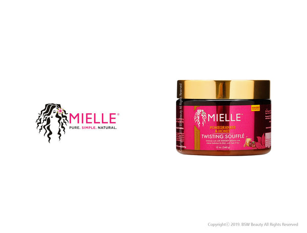 MIELLE ORGANICS POMEGRANATE & HONEY TWISTING SOUFFLE 12oz