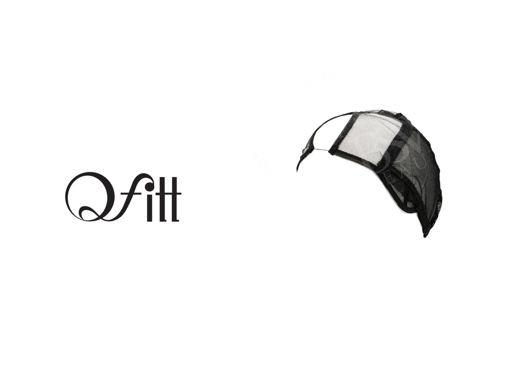 QFITT CENTER PARTING U-PART WIG CAP #5013 BLACK