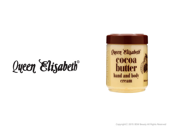 QUEEN ELISABETH COCOA BUTTER HAND AND BODY CREAM 16.9oz