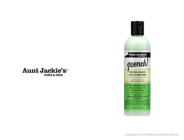 AUNT JACKIES QUENCH! MOISTURE INTENSIVE LEAVE-IN CONDITIONER 12oz