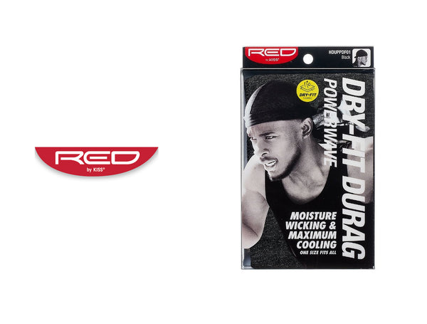 RED BY KISS DRY-FIT DURAG POWERWAVE