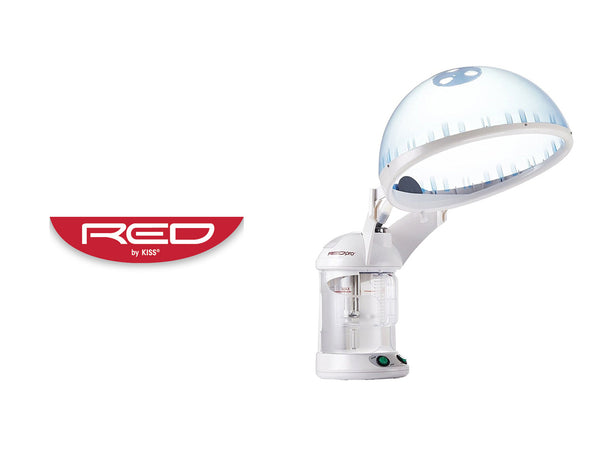 RED BY KISS HAIR THERAPY 2 IN 1 HAIR& FACIAL STEAMER
