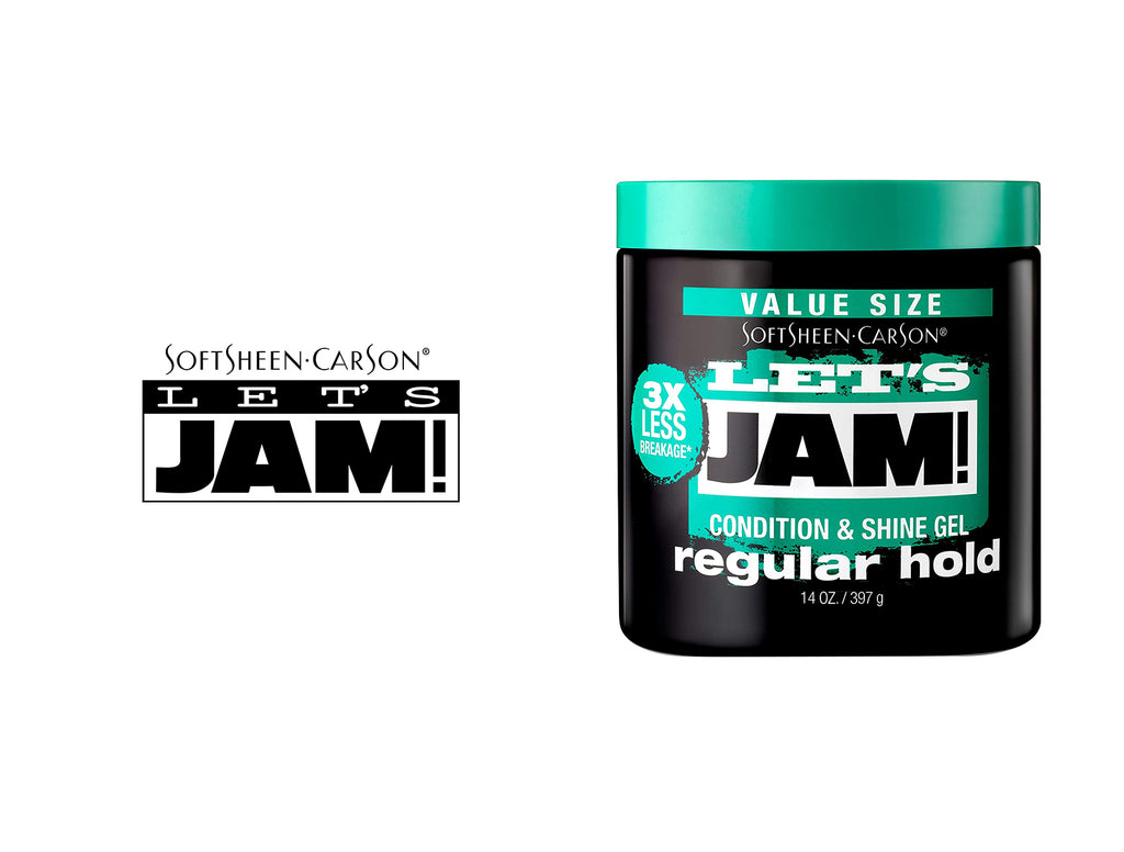 LETS JAM SHINING AND CONDITIONING GEL REGULAR HOLD