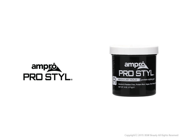 AMPRO PRO STYLE PROTEIN STYLING GEL - 3 TYPE