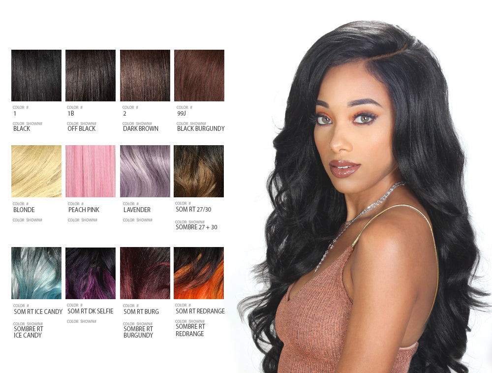 ZURY SIS BEYOND MOON PART LACE FRONT WIG