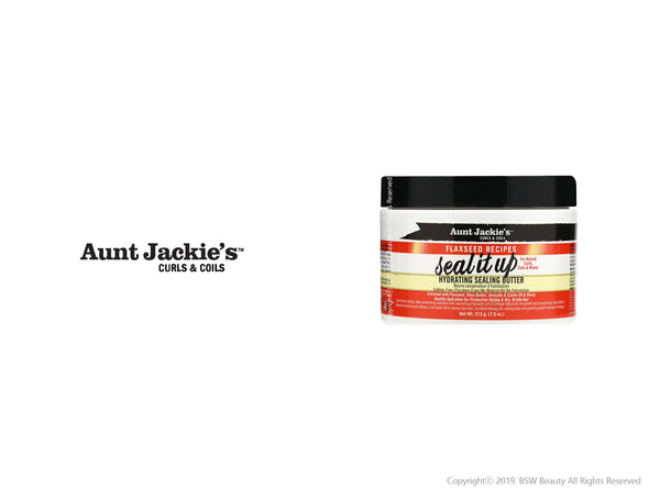 AUNT JACKIES SEAL IT UP HYDRATING SEALING BUTTER 7.5oz