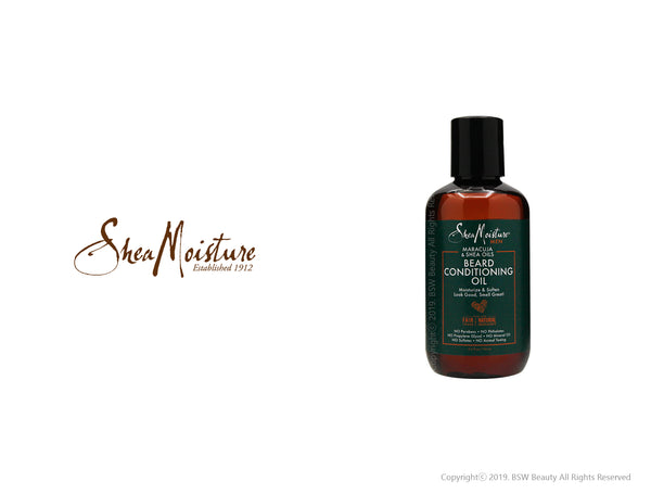 SHEA MOISTURE MEN MARACUJA & SHEA OILS BEARD CONDITIONING OIL 3.2oz