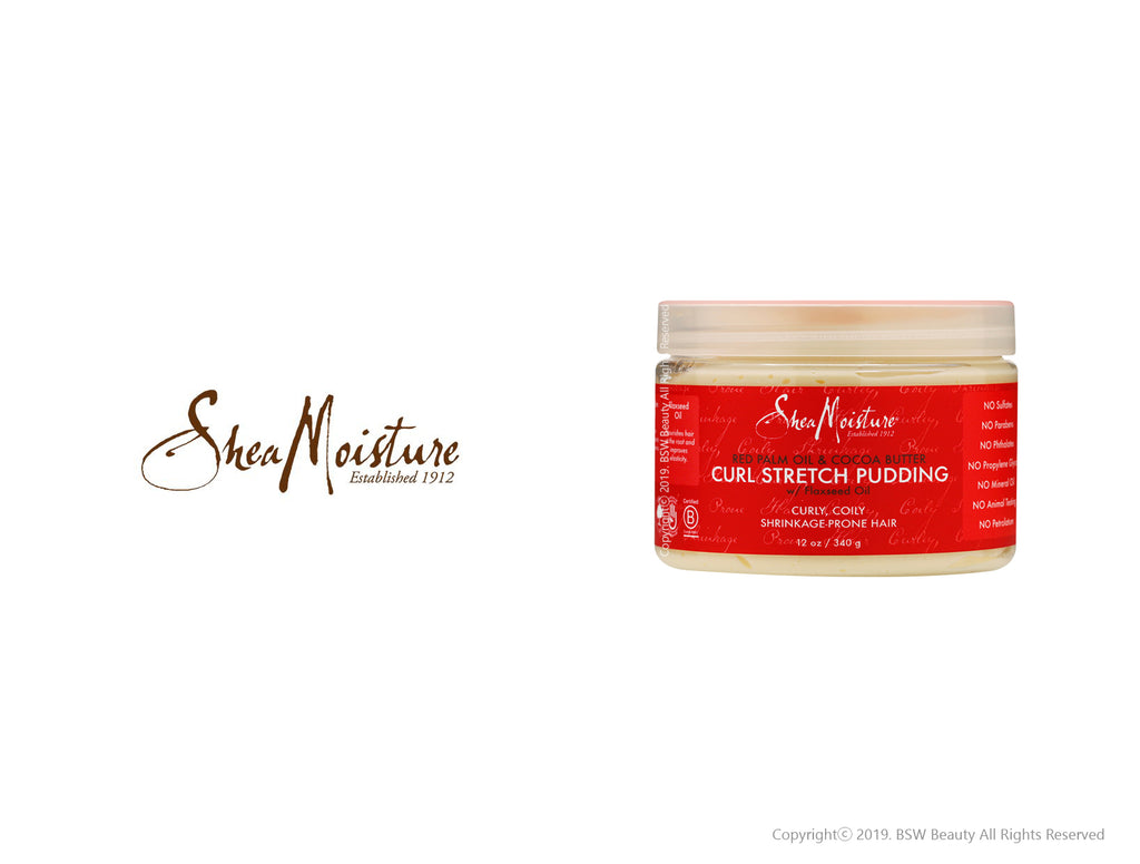 SHEA MOISTURE RED PALM OIL & COCOA BUTTER CURL STRETCH PUDDING 12oz