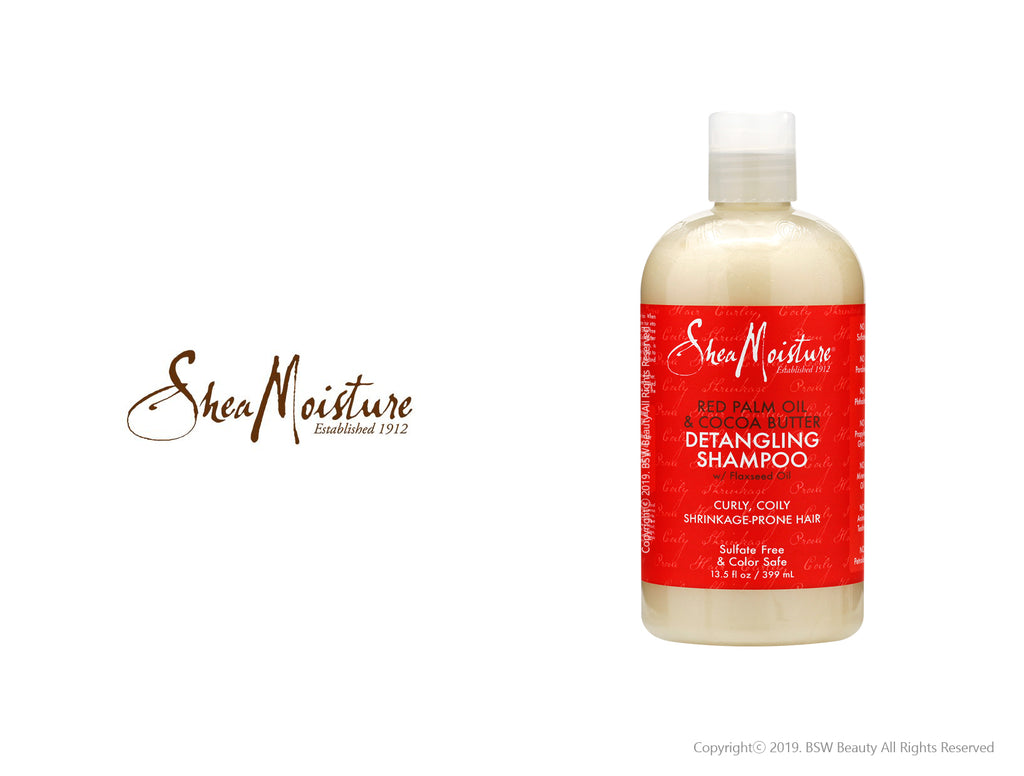 SHEA MOISTURE RED PALM OIL & COCOA BUTTER DETANGLING SHAMOO 13.5oz