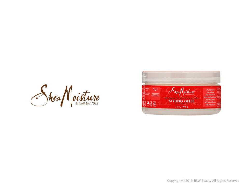 SHEA MOISTURE RED PALM OIL & COCOA BUTTER STYLING GELEE 7oz