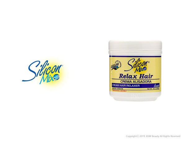 SILICON MIX RELAX HAIR CREAM HAIR RELAXER REGULAR 16oz