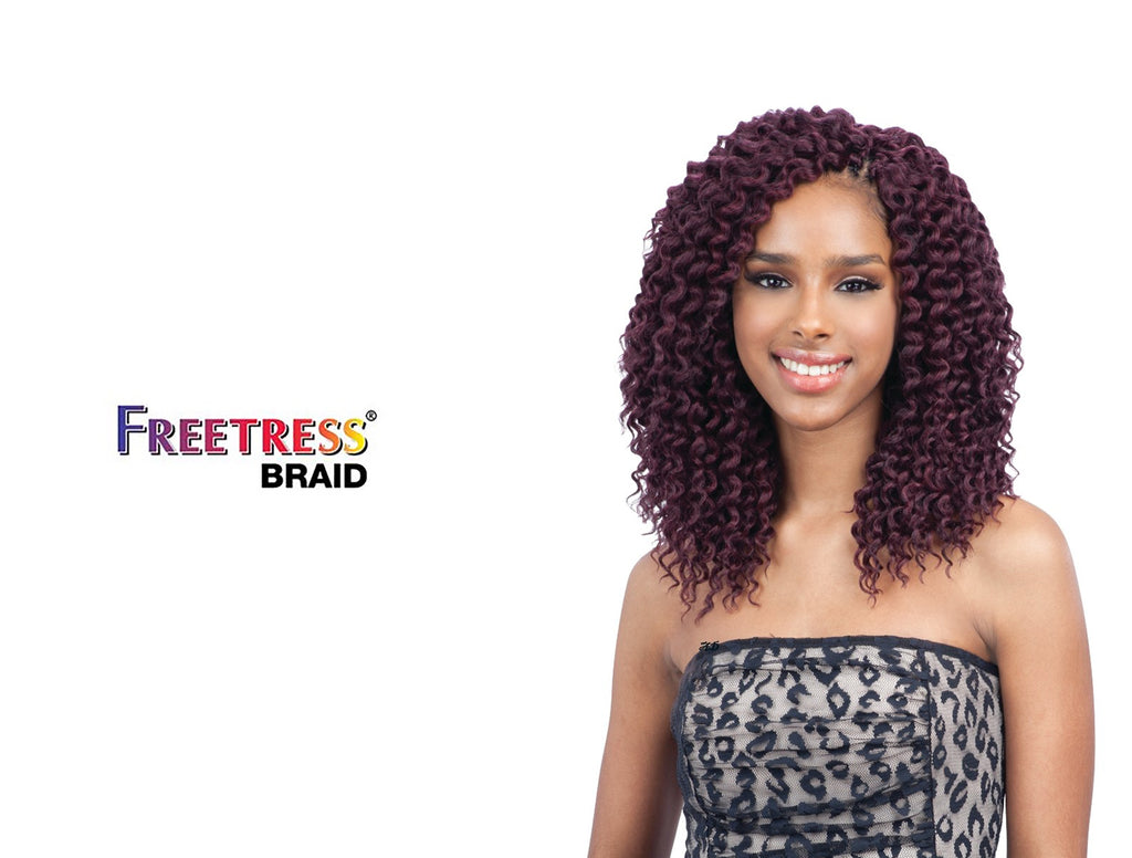 SHAKE N GO FREETRESS CROCHET BRAID  DEEP TWIST 10""