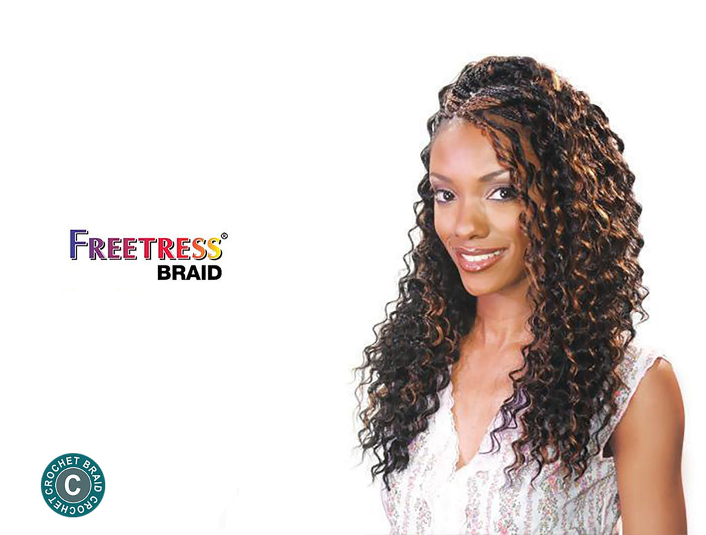SHAKE N GO FREETRESS CROCHET BRAID - DEEP TWIST BULK 22""