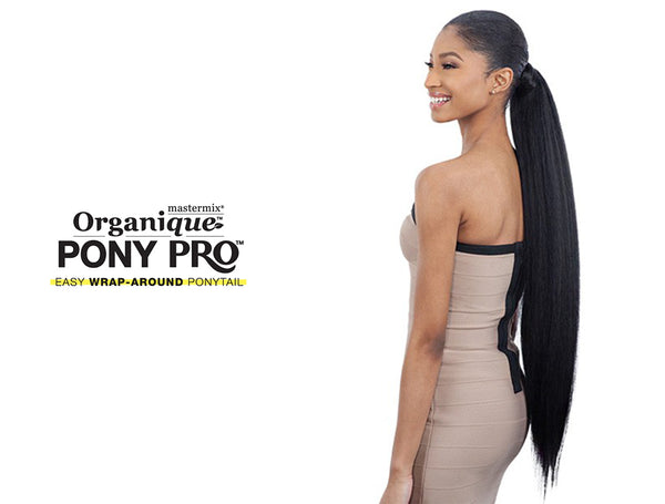 "SHAKE N GO ORGANIQUE PONY PRO NATURAL YAKI 32""*** [W]"