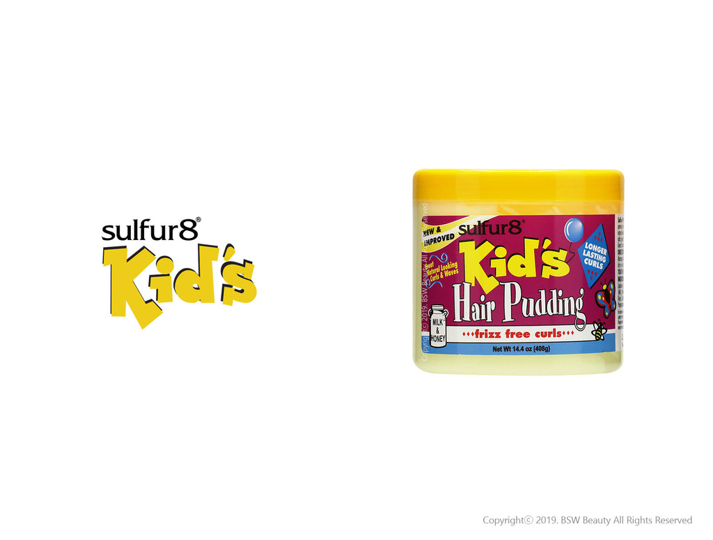 SULFUR8 KID'S FRIZZ FREE CURLS HAIR PUDDING 14.4oz