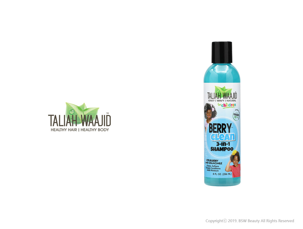 TALIAH WAAJID BERRY CLEAN 3-IN-1 SHAMPOO 8oz