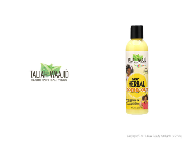 TALIAH WAAJID EASY HERBAL COMB-OUT 8oz