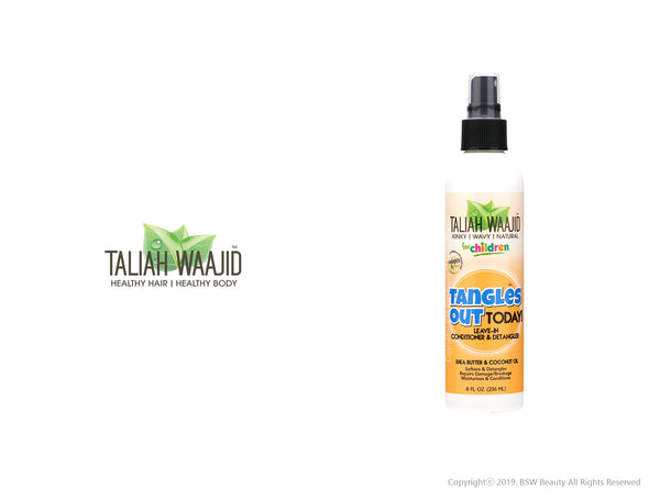 TALIAH WAAJID TANGLES OUT TODAY LEAVE-IN CONDITIONER & DETANGLER 8oz