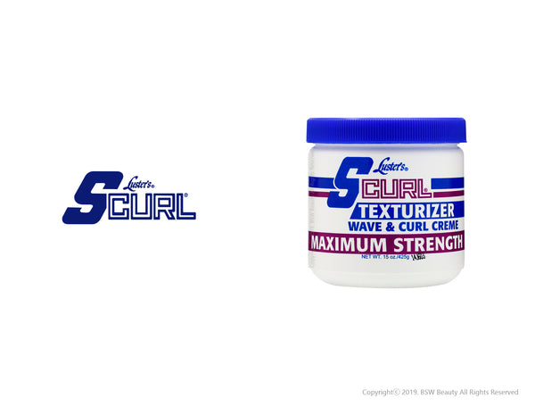 S CURL TEXTURIZER WAVE & CURL CREME MAXIMUM STRENGTH 15oz