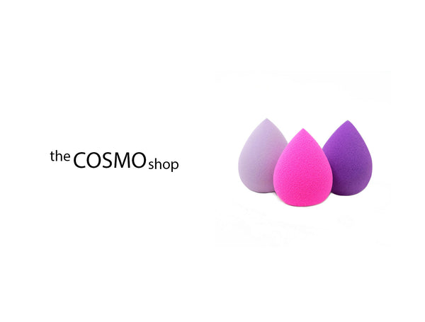 THE COSMO SHOP LATEX FREE BLENDING SPONGE ASSORTED
