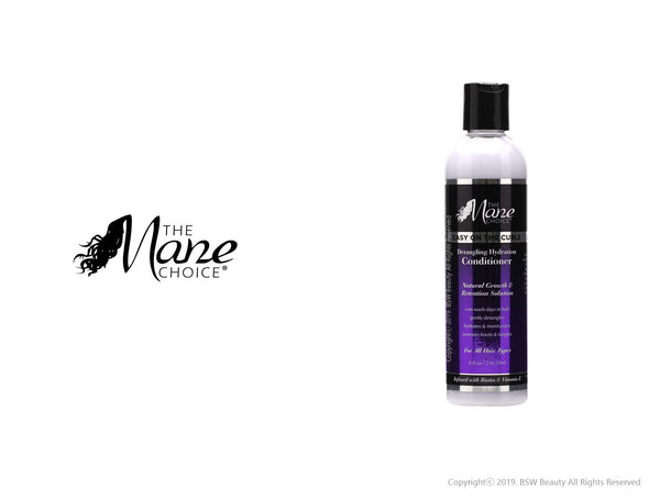 THE MANE CHOICE EASY ON THE CURLS DETANGLING HYDRATION CONDITIONER 8oz