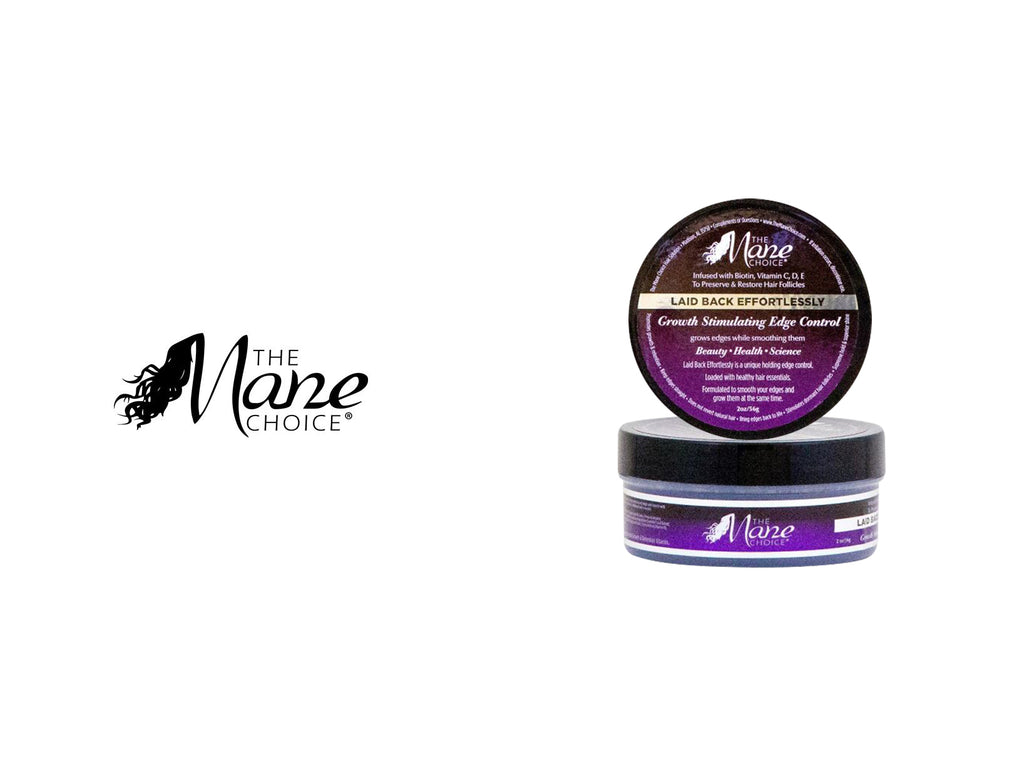 THE MANE CHOICE LAID BACK EFFERTLESSLY GROWTH STIMULATING EDGE CONTROL 2oz