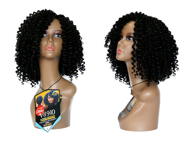 ZURY NATURALI STAR CROCHET BRAIDS V8.9.10 WATER WAVE (1PACK ENOUGH)