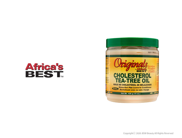 AFRICA'S BEST ORIGINALS CHOLESTEROL TEA-TREE OIL 15oz