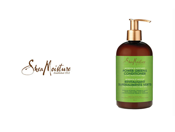 SHEA MOISTURE MORINGA & AVOCADO POWER GREEN CONDITIONER 13oz