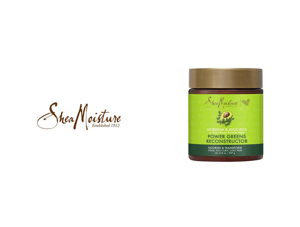 SHEA MOISTURE MORINGA & AVOCADO POWER GREEN RECONSTRUCTOR 8oz