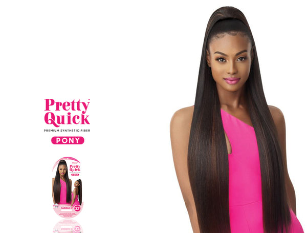 OUTRE PRETTY QUICK PONYTAIL NADIRAH 32""
