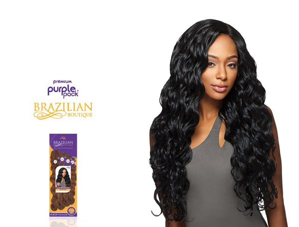 OUTRE PURPLE PACK BRAZILIAN BOUTIQUE 100% HUMAN HAIR BLEND VIRGIN BODY (1 PACK SOLUTION) [W]