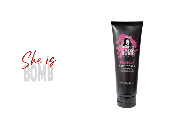 SHE IS BOMB SILK BOMB CONDITIONER 8.5oz