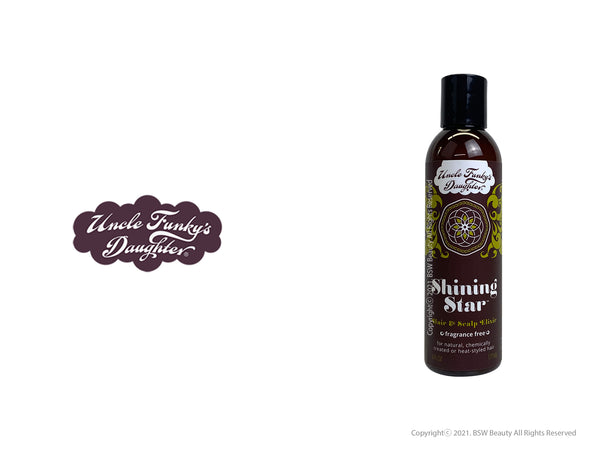 UNCLE FUNKY'S DAUGHTER SHINING STAR HAIR & SCALP ELIXIR 6oz