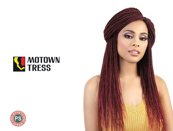 MOTOWN 3X QUICK N EASY PRE-STRETCHED SPETRA BRAID 26""