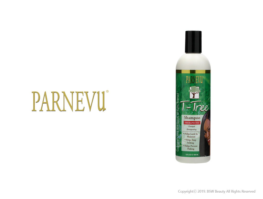 PARNEVU T-TREE SHAMPOO 12oz***