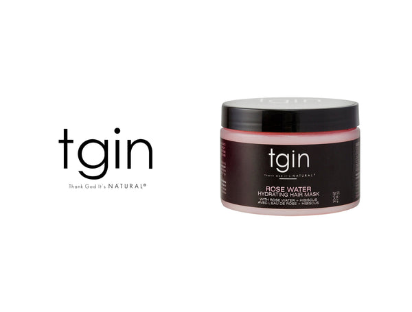 TGIN ROSE WATER HYDRATING HAIR MASK 12oz