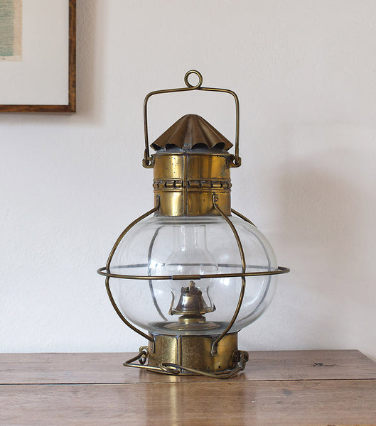 Brass Lifeboat Lamps